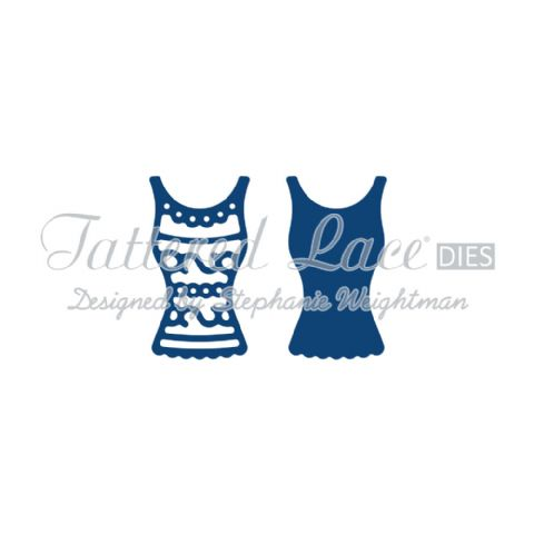 Tattered Lace Die Bella's Vest - D714